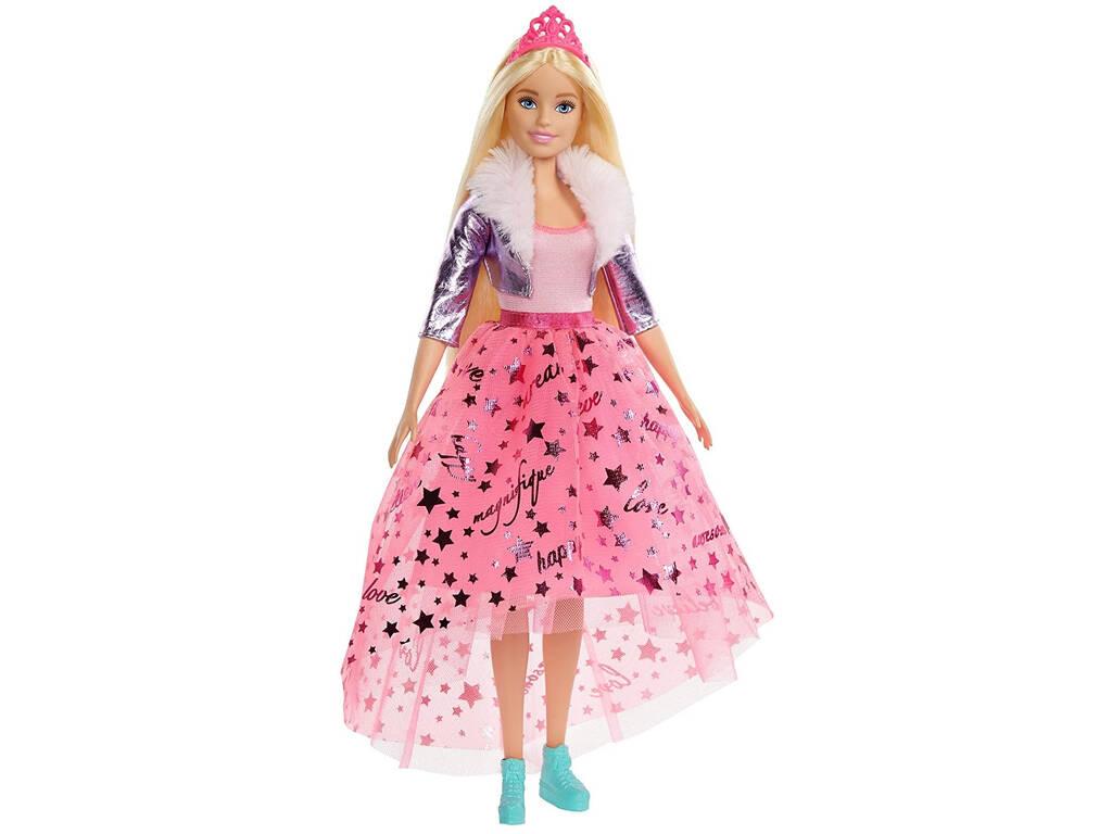Princesa Deluxe Rosa Mattel GML76