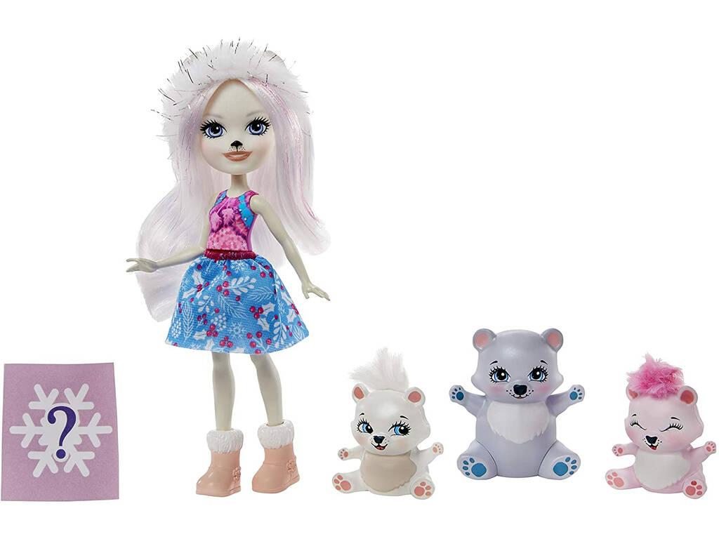 Enchantimals Oso Polar y Familia Mattel GJX47