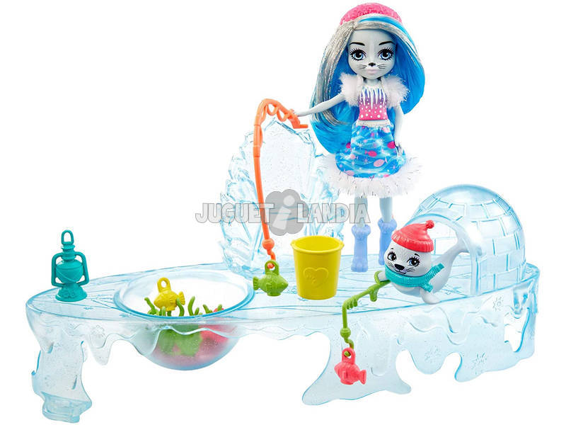 Enchantimals Vamos a Pescar Mattel GJX48