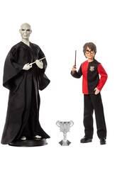 Harry Potter Pack Harry Potter Vs Lord Voldemort Mattel GNR38