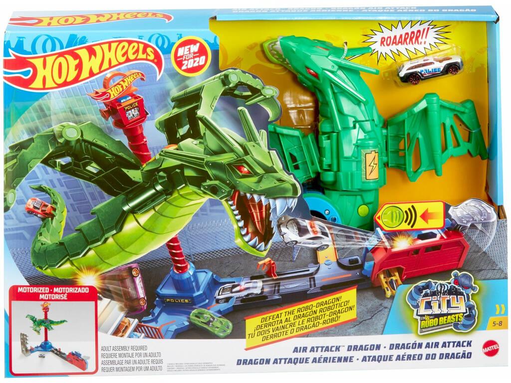 Hot Wheels City Frappe Aérienne Du Dragon Mattel GJL13