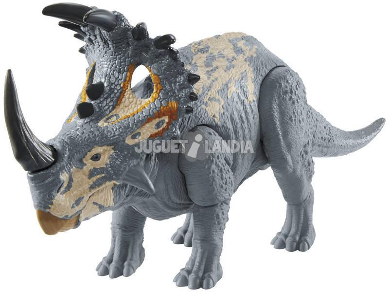 Jurassic World Sound Strike Sinoceratops Mattel GMC98