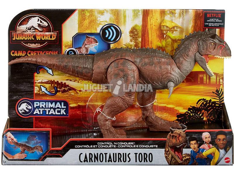Jurassic World Carnotaurus Toro Mattel GNL07
