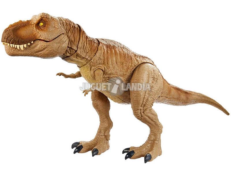 Jurassic World Tiranosaurio Rex Rugido Épico Mattel GJT60