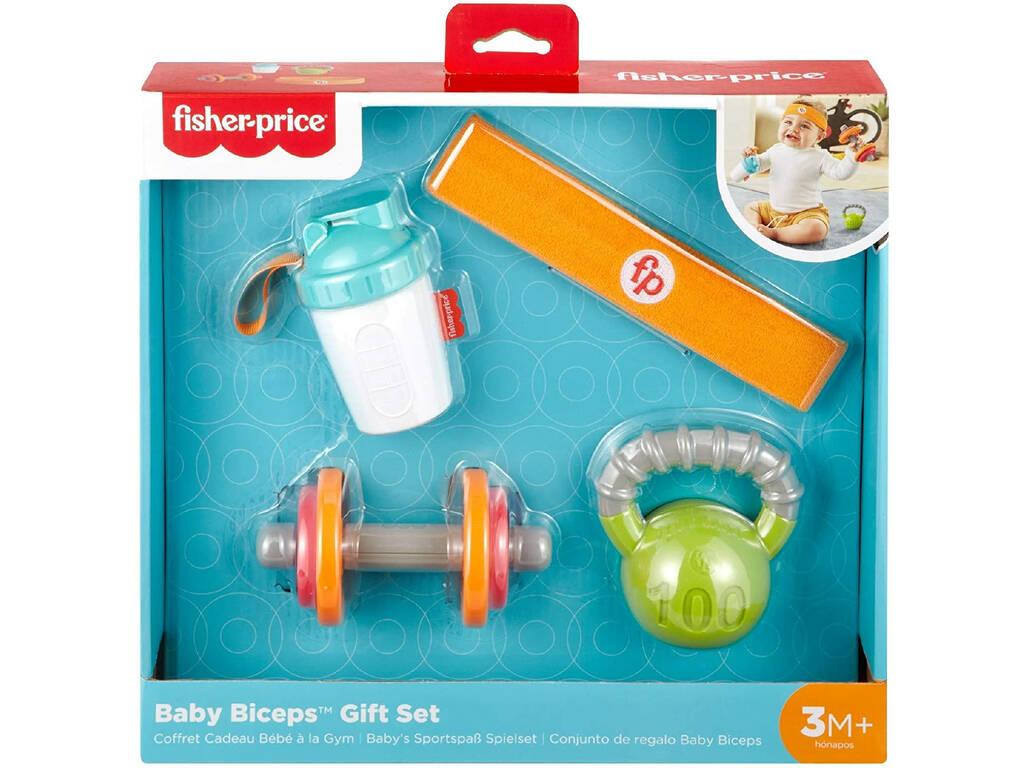 Fisher Price Conjunto de Regalo Baby Biceps Mattel GJD49