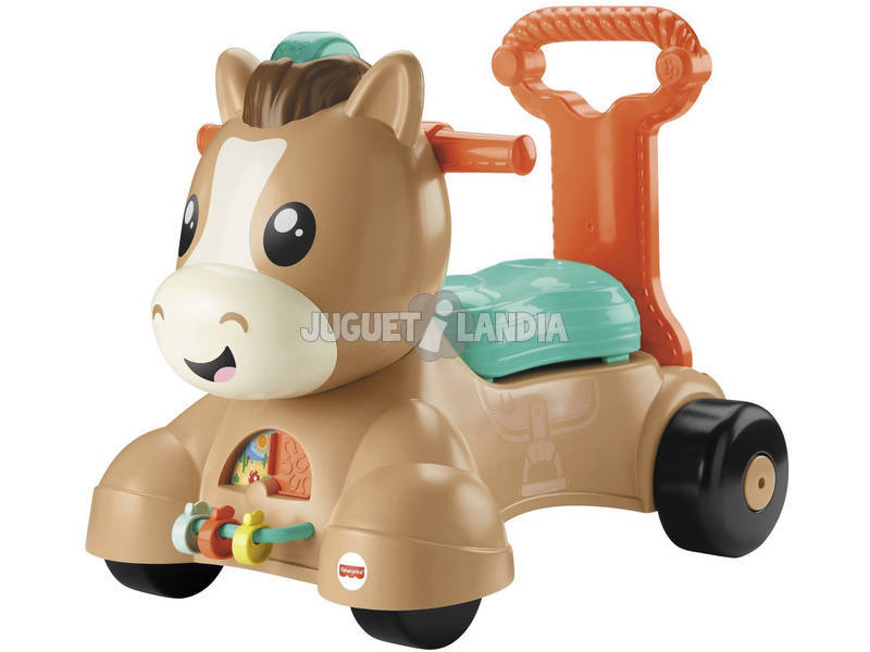 Fisher Price Andador Poni Camina Mattel GVN35