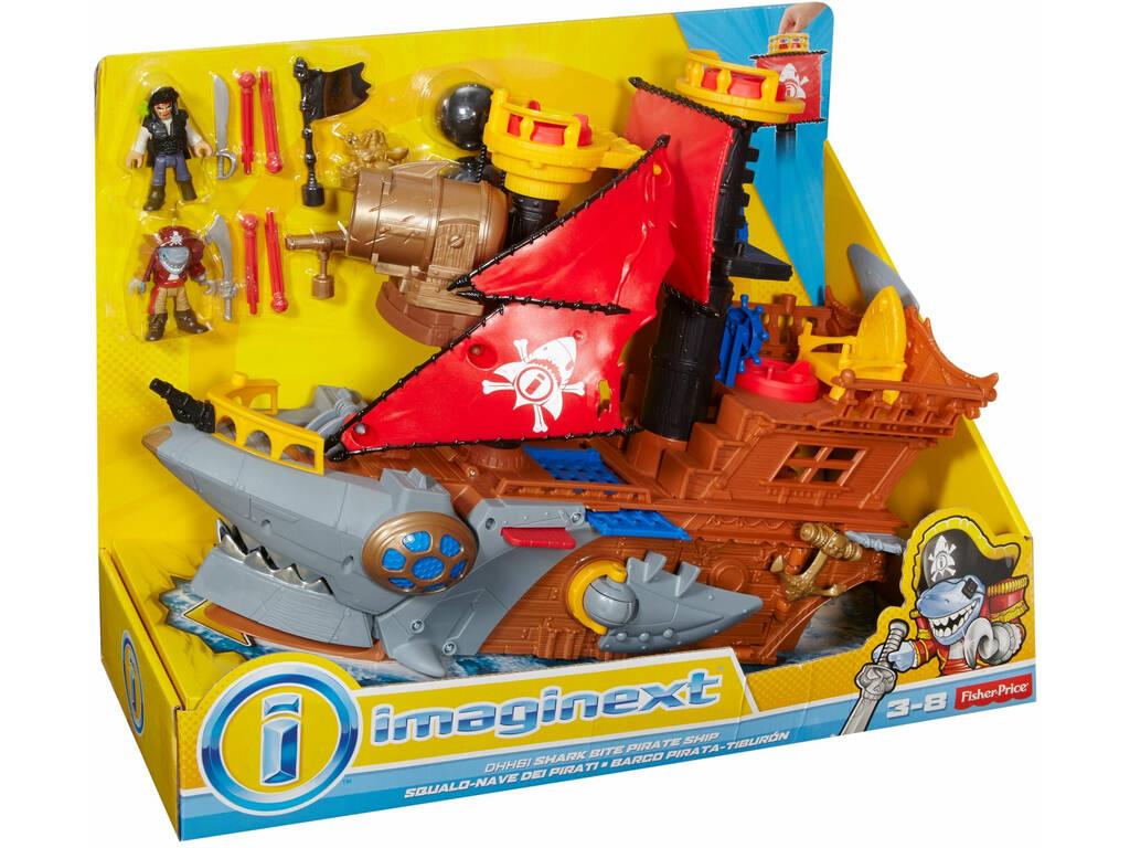Imaginext Barco Tiburón Mattel DHH61
