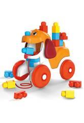 Megabloks Cãozinho Passeios com Blocos Mattel GNW63