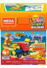 Mega Construx Story Builders Caja 140 Piezas Mattel GRG53