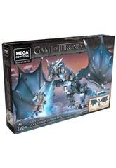 Jogo de Tronos Mega Construx Got Jon Snow Contra Viserion Mattel GMN74