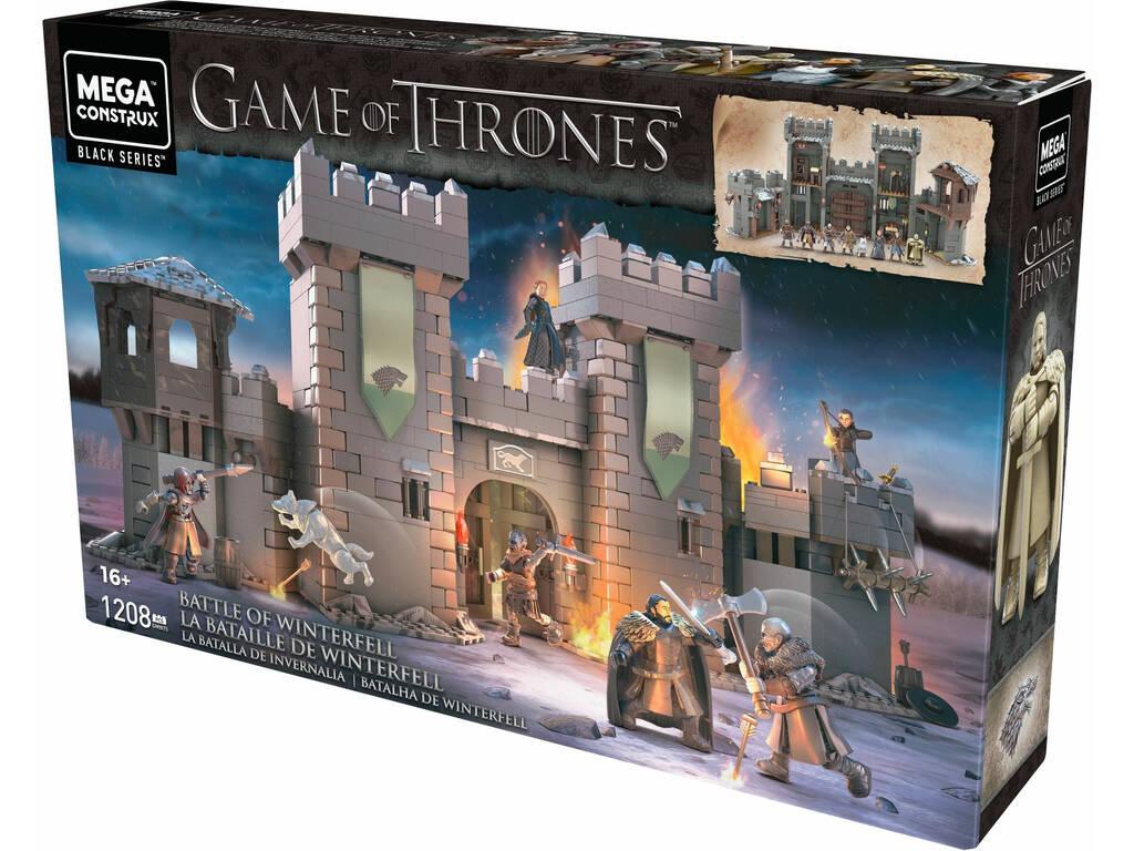 Juego de Tronos Mega Construx Got La Batalla De Invernalia Mattel GMN75