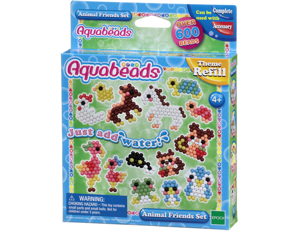 Aquabeads Set de Animales Epoch Para Imaginar 79298