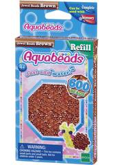 Aquabeads Pack Perles Bijou Marron Epoch Para Imaginar 32738
