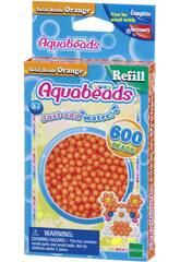 Aquabeads Pack Perles Solides Orange Epoch Para Imaginar 32518