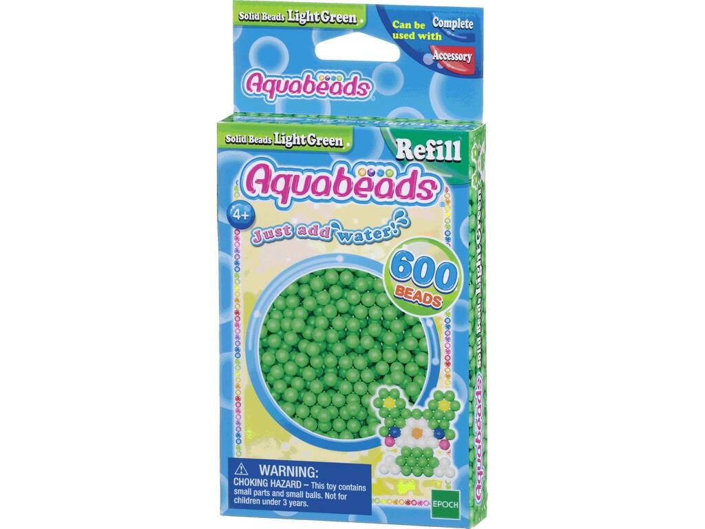 Aquabeads Pack Abalorios Sólidos Verde Claro Epoch Para Imaginar 32538