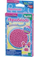 Aquabeads Pack Perles Solides Rose Epoch Para Imaginar 32588
