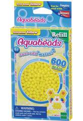 Aquabeads Pack Perline Solide Giallo Epoch Para Imaginar 32528
