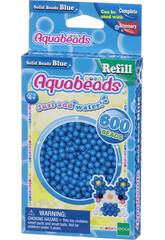 Aquabeads Pack Abalorios Sólidos Azul Epoch Para Imaginar 32568