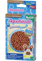 Aquabeads Pack Perles Solides Marrón Clair Epoch Para Imaginar 32608