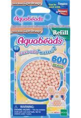 Aquabeads Pack Contas Sólidos Laranja Claro Epoch Para Imaginar 32618