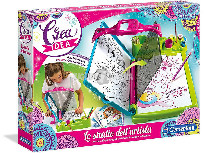 Lo Studio Dell'Artista Clementoni 15190