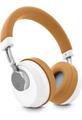 Auriculares Headphones BT Smart 6 Voice Assistant Caramel Energy Sistem 44663