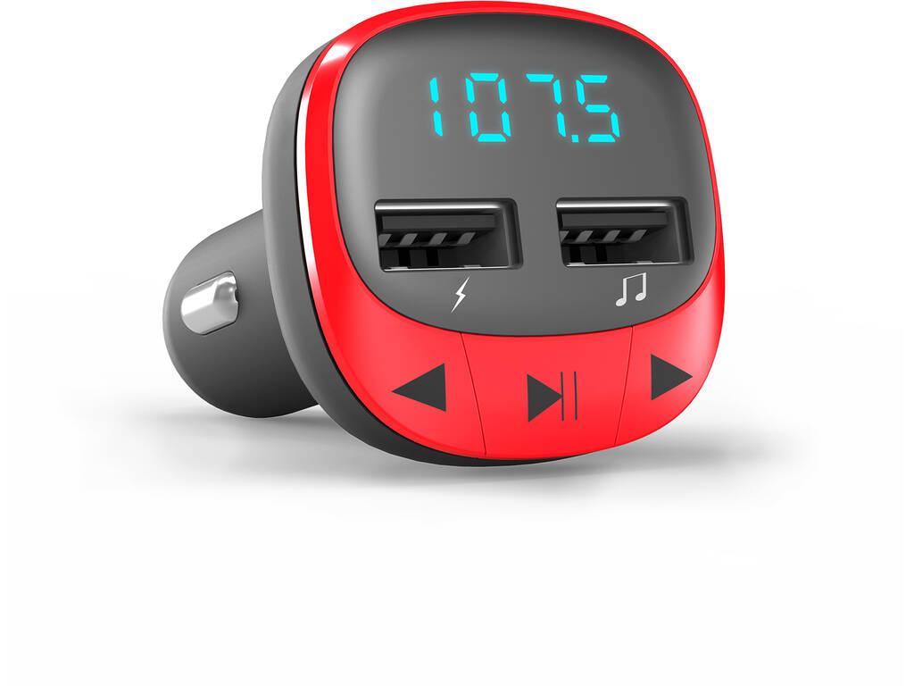 Portable Audio Car Transmitter FM Red Energy Sistem 44825