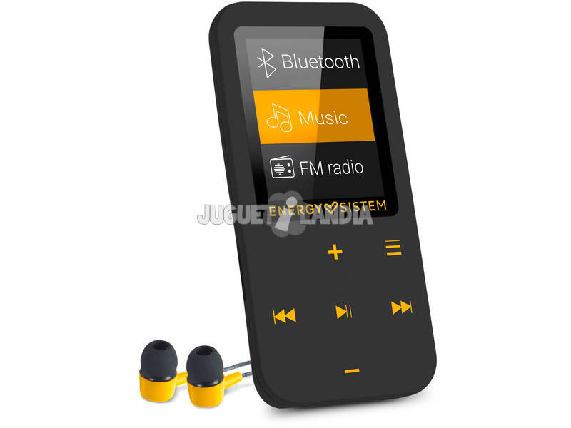 Portable Audio MP4 Touch Bluetooth Amber Energy Sistem 44722