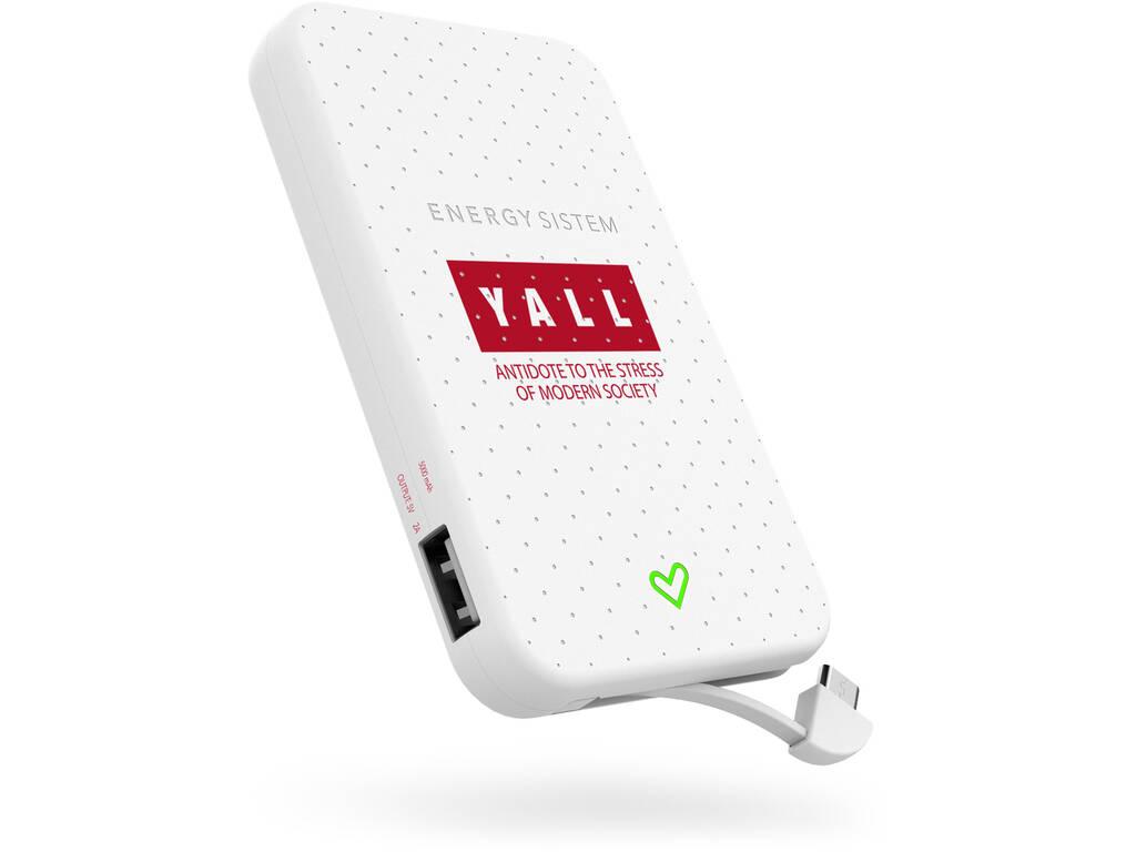 Batería Portátil 5000 Yall Edition Energy Sistem 44608