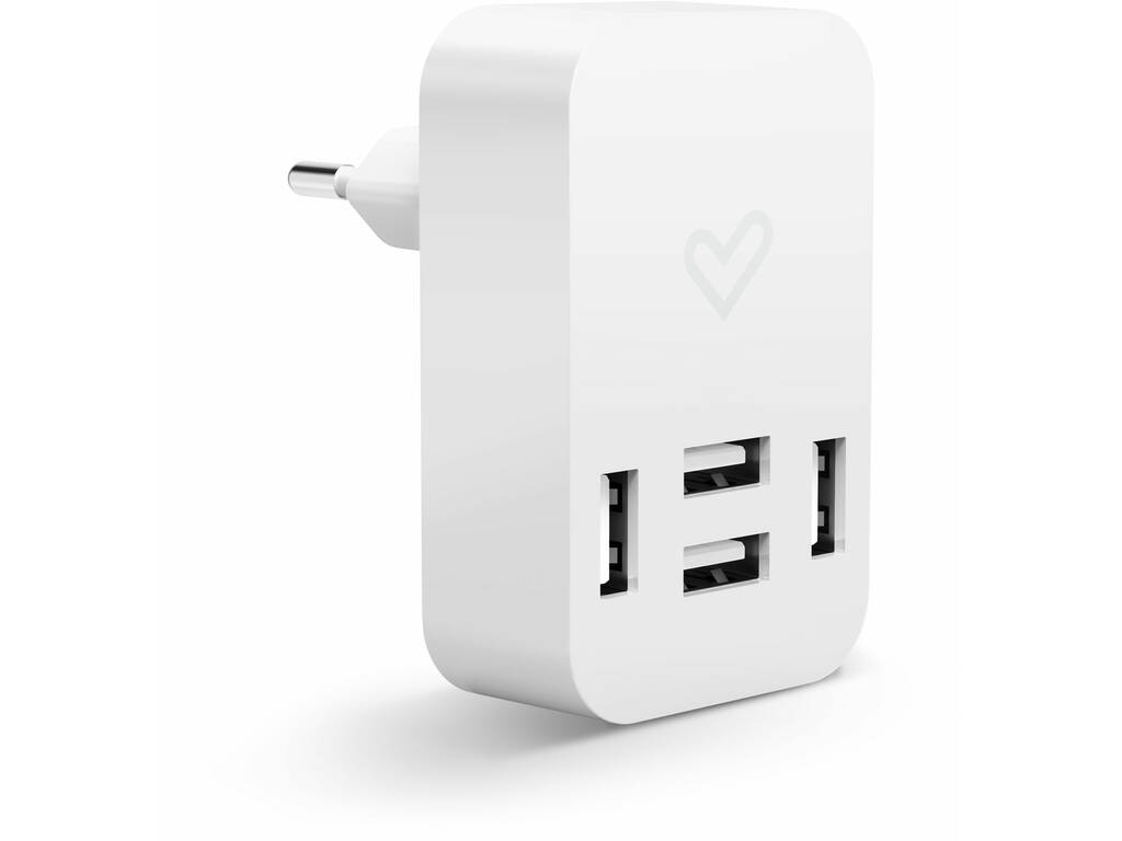 Home Charger 4.0A Quad USB Energy Sistem 44462