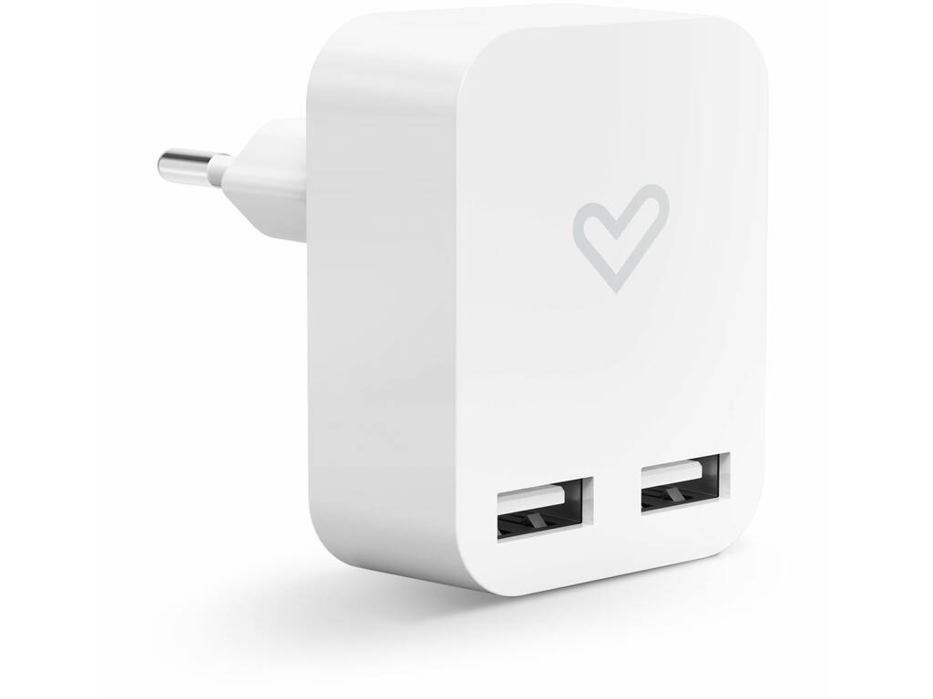 Home Charger 2.4A Dual USB Energy Sistem 44463