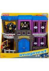 Imaginext Prisión Gotham City con Figuras Mattel W9642