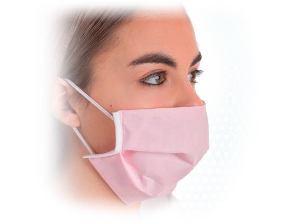 Masque Hygiénique de Protection Adultes 3 Filtres Rose Kamabu 90004