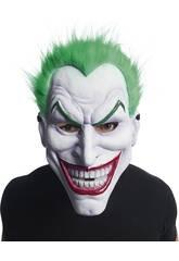 Maschera Joker con capelli Rubies 201292