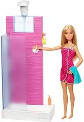 Barbie Dusche Möbel Mattel FXG51