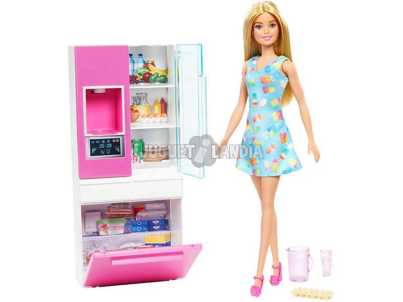 Barbie Mobiliario Nevera Mattel GHL84