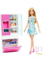 Barbie Mobili Frigorifero Mattel GHL84