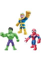 Avengers Mega Mighties Multipack 3 Figures Hasbro E7772