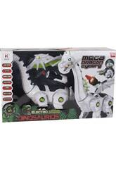 Mega Dragón Cyborg Caminante Luz y Sonidos