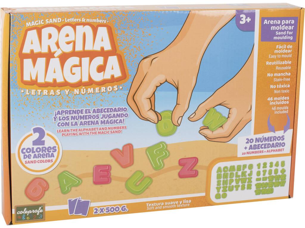 Aprende las Letras y los Números con Arena Mágica