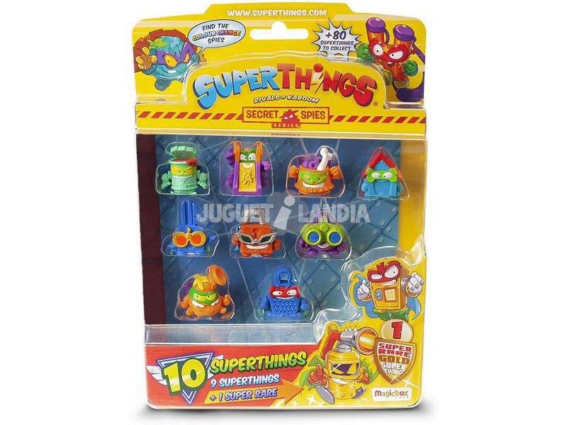 Superthings Secret Spies Blister 10 Figuras Magic Box PST6B016IN00