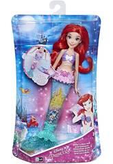 Poupée Princesses Disney Ariel Luminosité de la Lumière Hasbro E6387