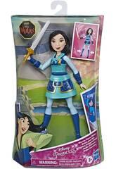 Disney Prinzessinnen Mulan Kriegerin Puppe Hasbro E8628