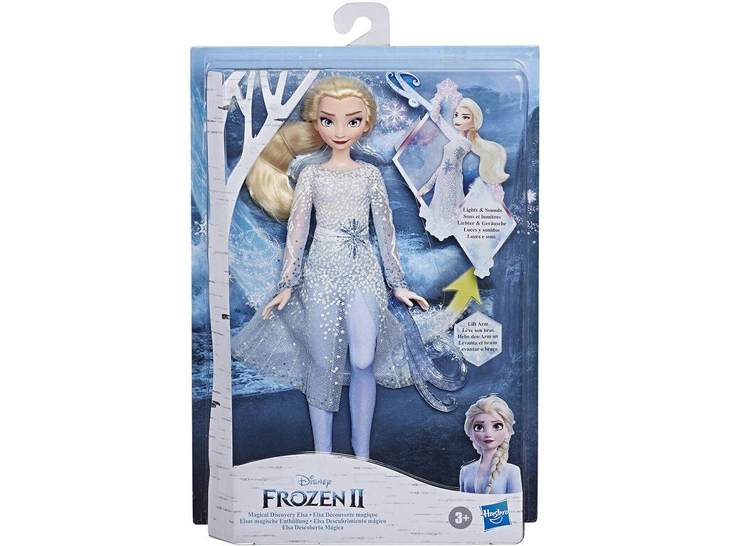Frozen II Elsa Descubrimiento Mágico Hasbro E8569