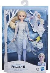 Frozen II Elsa Scoperta Magica Hasbro E8569