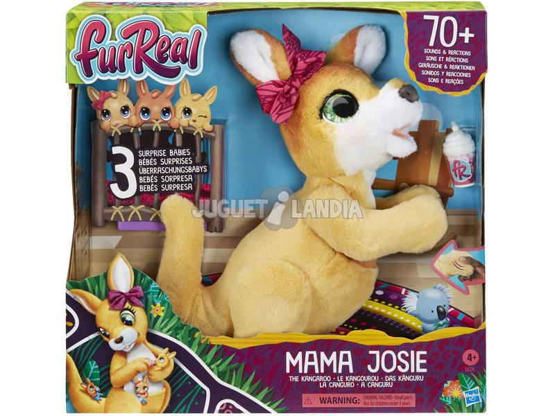 Fur Real Peluche Mama Josie La Canguro Hasbro E6724