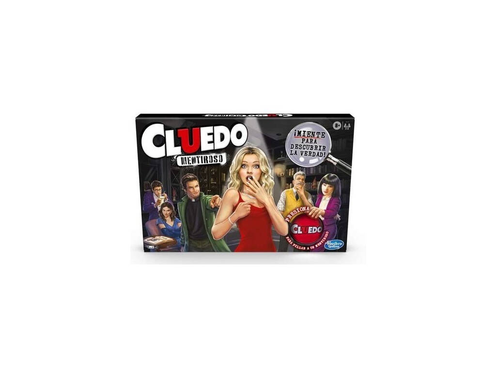 Cluedo Menteurs Hasbro E9779