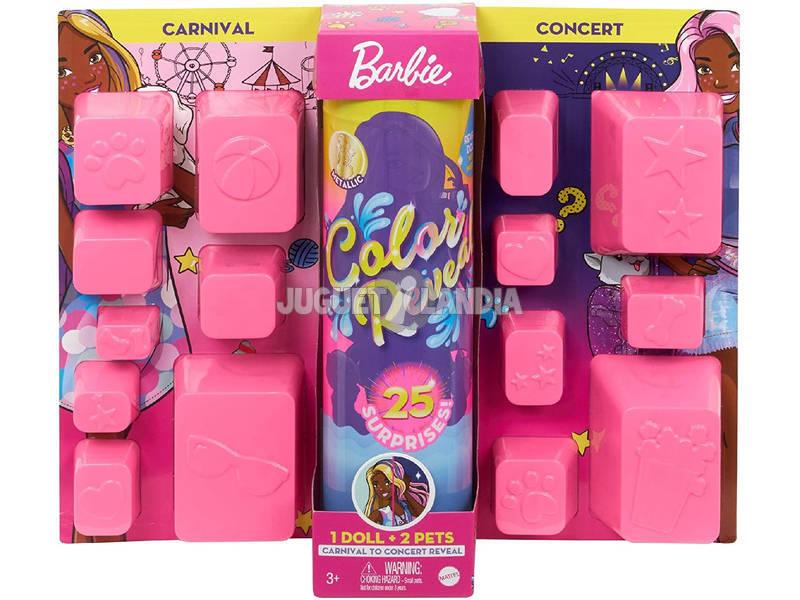 Barbie Color Reveal con 25 Sorpresas Mattel GPD54