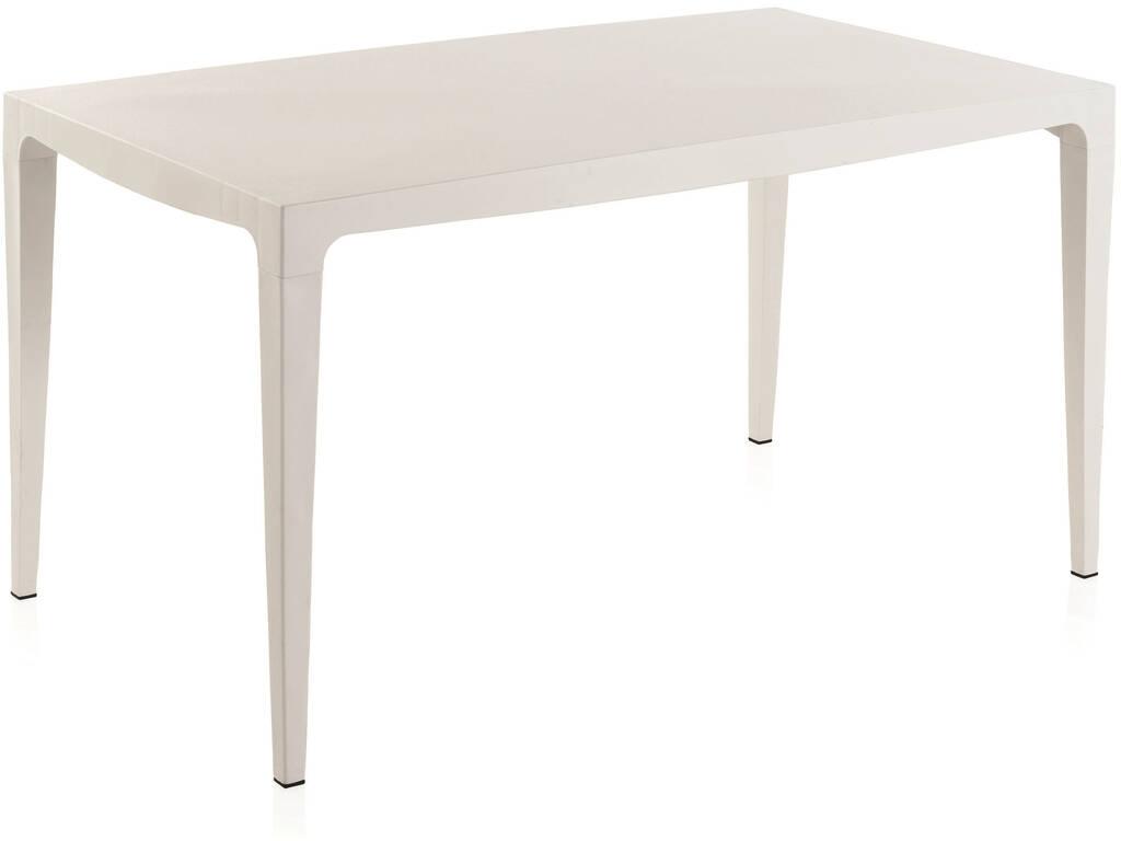 Muebles Jardín Mesa Master 140 Blanca SP Berner 55122