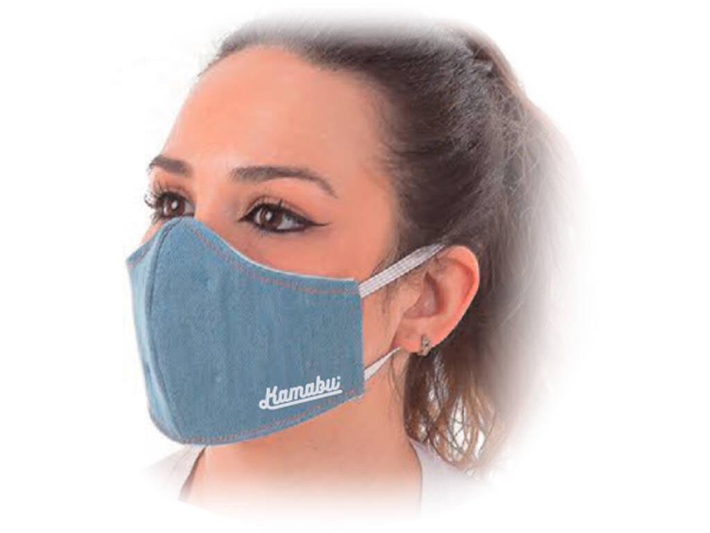 Masque Hygiénique Jeans Clara Chica 3 Filtres Kamabu 80016